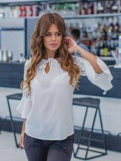 Блузка Jaklin 7976 S Белая (NM4821000082041)