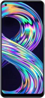 Мобильный телефон Realme 8 6/128GB Cyber Silver (RMX3085)