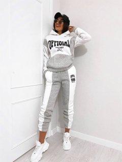 Спортивный костюм New Trend Women Vum-113 48-50 Серый (9990003149060)