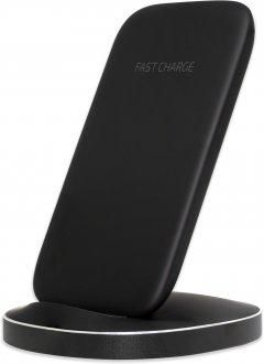 Беспроводное зарядное устройство подставка для телефона Mission Wireless Stand с технологией QI Black (Mi-STbk)