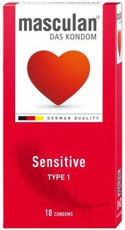 Презервативы Masculan Sensitive 10 шт (4019042000011)