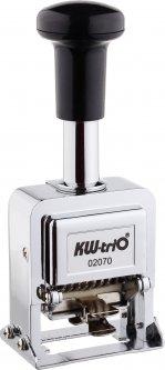 Нумератор Кw-triO 02070 7-ми разрядный 4.8 мм металлический корпус (4714218030099)