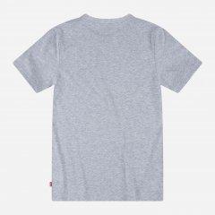 Футболка детская Levi's Lvb Short Slv Graphic Te Shirt 8ED563-C87 116 см Серая (3665115447484)