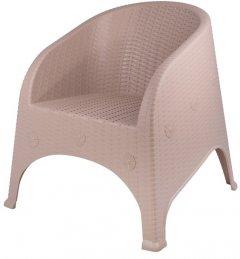 Кресло Violet House Cappuchino Olivya Роттанг 68х77х80 см (0838 Роттанг CAPPUCHINO OLIVYA 6)