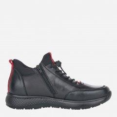 Ботинки RIEKER B7693/00 40 Черные (4060596624840)