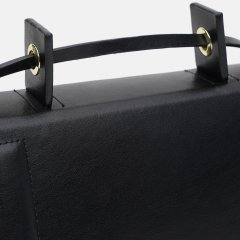 Женская сумка кожаная Kachorovska CB Tyra-L0918 Черная (80088252)