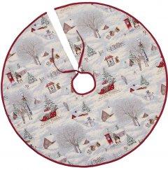 Покрывало под елку Limaso новогоднее гобеленовое EDEN972-SD 90 см (ROZ6400053592)