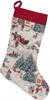Носок для подарков Limaso гобеленовый EDEN1004-CH 25х37 (ROZ6400053636)