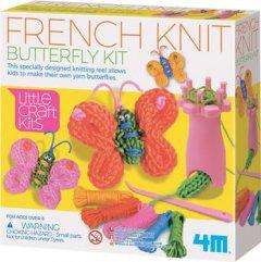 Набор для французкого вязания 4M Бабочки (00-04765) (4893156047656)