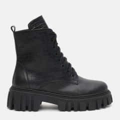 Ботинки LeoModa 21218/1 40 (26 см) Черные (2000000000145)