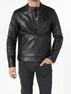 Куртка из искусственной кожи Colin's CL1055688BLK S Black (8682240905851)