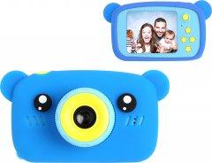 Цифровой детский фотоаппарат XoKo KVR-005 Bear Голубой (KVR-005-BL) (9869201149830)