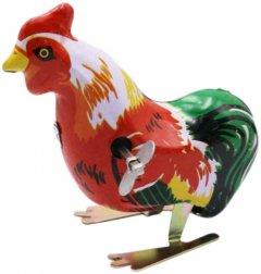 Заводная игрушка Bass & Bass Петушок винтажный коллекционный (3457019601372)