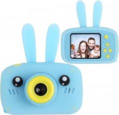 Цифровой детский фотоаппарат XoKo KVR-010 Rabbit Голубой (KVR-010-BL) (9869201149878)