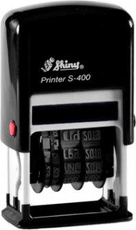 Мини-датер Shiny S-400 цифровой 4 мм черный корпус (4710850104136)