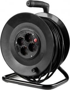 Сетевой фильтр Brille XK-4F/40Z BK 3x1.5 4 розетки Black (L100-022)