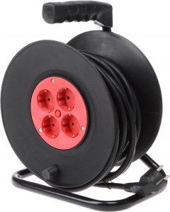 Сетевой удлинитель Brille XK-4A/15Z 4 розетки Black (135176)