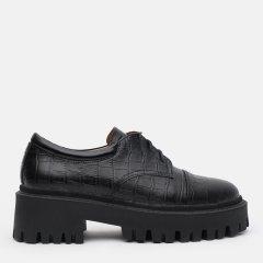 Туфли LeoModa 21115/1/2 36 (23 см) Черные (2000000000534)