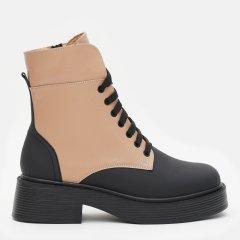 Ботинки LeoModa 21225/11 40 26 см Черный/Светло-рыжий