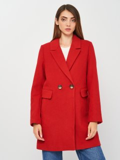 Пальто Stradivarius 5806/807/100 S Красное (SZ05806807100029)