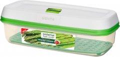 Емкость для хранения овощей и фруктов Sistema Freshworks Green 1.9 л (53115)