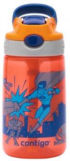 Бутылка для воды Contigo Gizmo Flip Orange 420 мл (2116115)