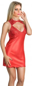 Ночная рубашка Miorre 001-000089 S/M Красная (8680570468732)