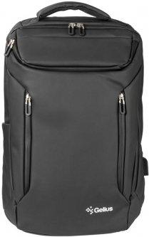 """Рюкзак для ноутбука Gelius Waterproof Protector GP-BP005 17"""" Black (2099900781087)"""