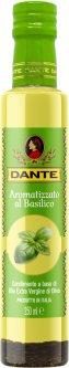 Оливковое масло Olio Dante Extra Virgin первого холодного отжима со вкусом базилика 250 мл (8033576194011_8033576194936_18033576194933)