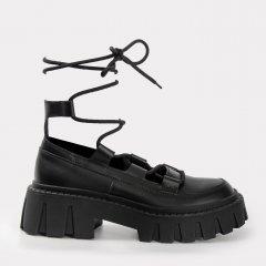 Туфли VERSHYNINA 21-01645 39 25.5 см Черные (ROZ6400201755)