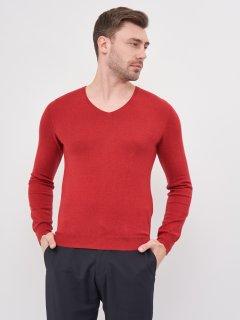Пуловер Celio Peters 60007162 S Бордовый (3596654127813)