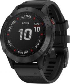 Спортивные часы Garmin Fenix 6 Pro Black with Black Band (010-02158-02)