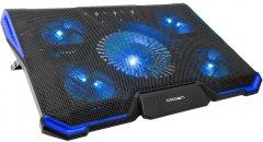 Охлаждающая подставка для ноутбука Crown CMLS-K331 Black/Blue