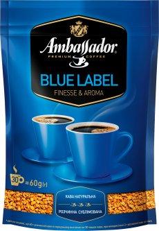 Кофе растворимый Ambassador Blue Label 60 г (8719325127461)