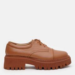 Туфли LeoModa 21115/30 41 (26.5 см) Рыжие (LM_2000000003344)