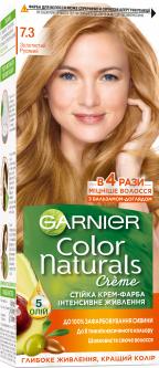 Стойкая краска для волос Garnier Color Naturals интенсивное питание 7.3 Золотисто-русый 112 мл (3600542404686)