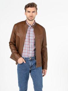 Куртка из искусственной кожи Colin's CL1050093BRW S Brown