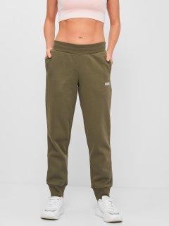 Спортивные штаны Puma ESS+ Metallic Pants FL cl 84613944 L Grape Leaf-Silver (4063699379945)