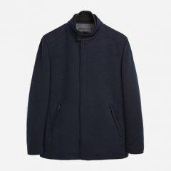 Пальто Zara 0706/455/401 L Темно-синее (00706455401040)