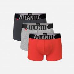 Трусы-шорты Atlantic 3SMH-003 2XL 3 шт KHA/SZM/POM (5903351335430)