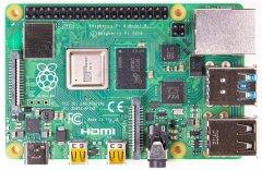 Миникомпьютер Raspberry PI 4 Model B 4GB (RPI4-MODBP-4GB)
