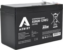 Аккумуляторная батарея AZBIST Super AGM 12V 9.0Ah (ASAGM-1290F2)