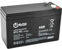 Аккумуляторная батарея EUROPOWER AGM 12 V 9Ah (EP12-9F2)