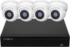 Комплект видеонаблюдения Green Vision GV-K-S16/04 1080P (LP6659)
