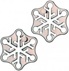 Головоломка из металла Huzzle Снежинка (515017) (5407005150177)