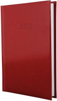 Ежедневник датированный Economix 2022 352 страницы Flash красный А5 (E21606-03)