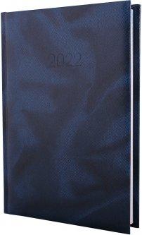 Ежедневник датированный Economix 2022 352 страницы Office синий А5 (E21607-02)