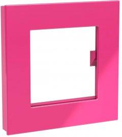 Магнит Dahle Mega Square 75x75 мм Розовый (4009729068021)
