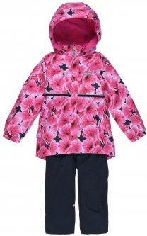 Демисезонный комплект (куртка + полукомбинезон) Lenne Liisa 20231/2640 128 см Малиновый (4741578507862)