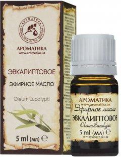 Эфирное масло Ароматика Эвкалиптовое 5 мл (4820031051347)